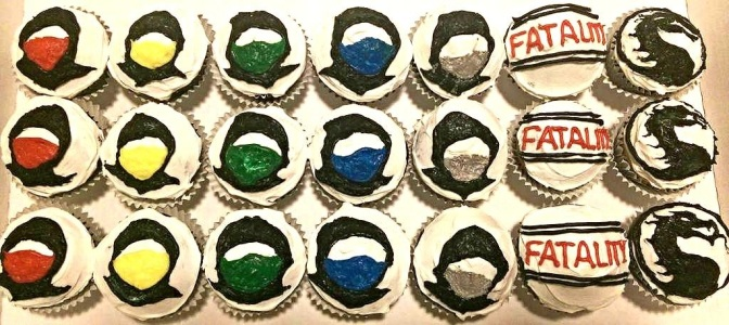 Mortal Kombat Kupcakes – Test Your Might To Resist These!
