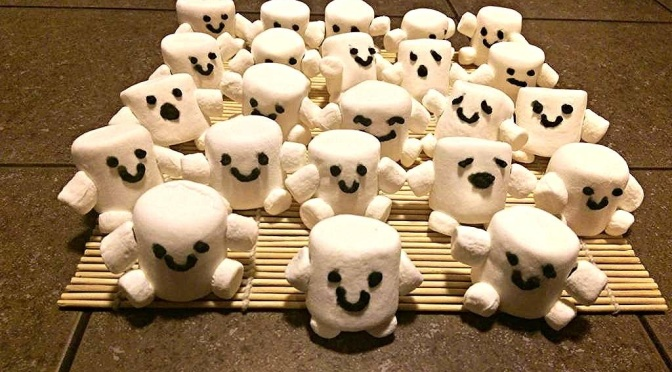 Doctor Who Adipose Marshmallows