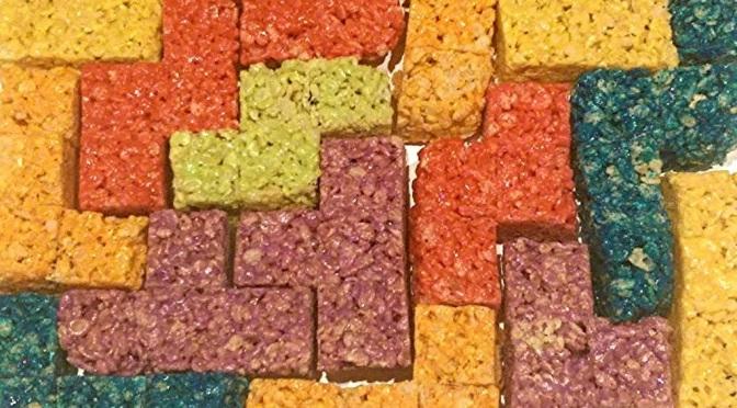 Tetris Rice Krispie Treats