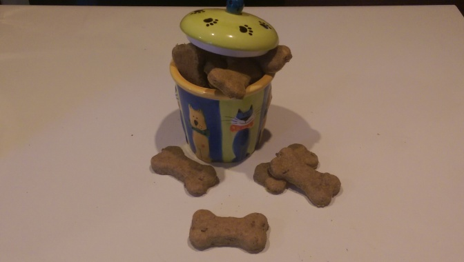 Scooby Snacks – Homemade dog treats!