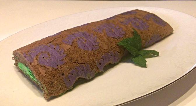 Zerg Cake Roll. Because you never know when you'll have an audience with the Queen of Blades.