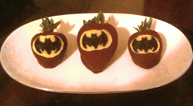 Chocolate Covered Batman Berries