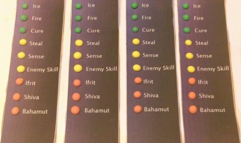 Materia Candy Buttons: Final Fantasy