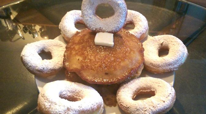 September's Featured Recipe: Powdered Donut Pancake Surprise