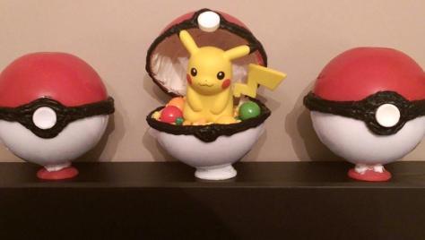 Pikachu Amiibo PokeBall Candy
