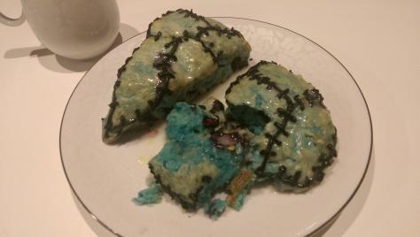 Blueberry scone recipe halloween