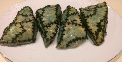 blueberry scone recipe, Nightmare Before Christmas Scones