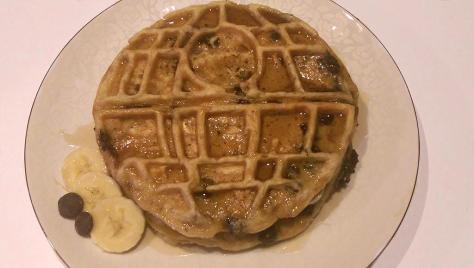 Death Star Waffle