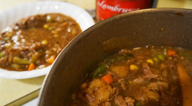 Guest Post: Capt. Jill's Skyrim Beef Stew